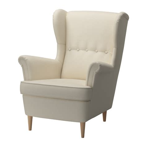 strandmon wing chair isefall ikea