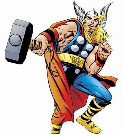 Thor Clipart Superhero Cliparts Clip Hammer Marvel