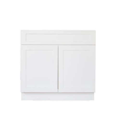 shaker cabinet doors home depot bremen ready to assemble 33x34 5x24 in shaker sink base