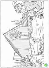 Christmas Coloring Barbie Carol Doorknocker Pages Perfect Dinokids Template sketch template