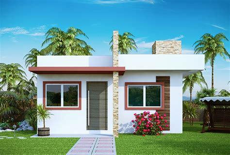 modelos de fachadas de casas pequenas  modernas