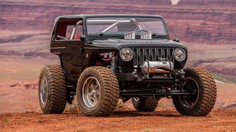 Обои Jeep 2017 Quicksand Concept Черный Авто 1366x768