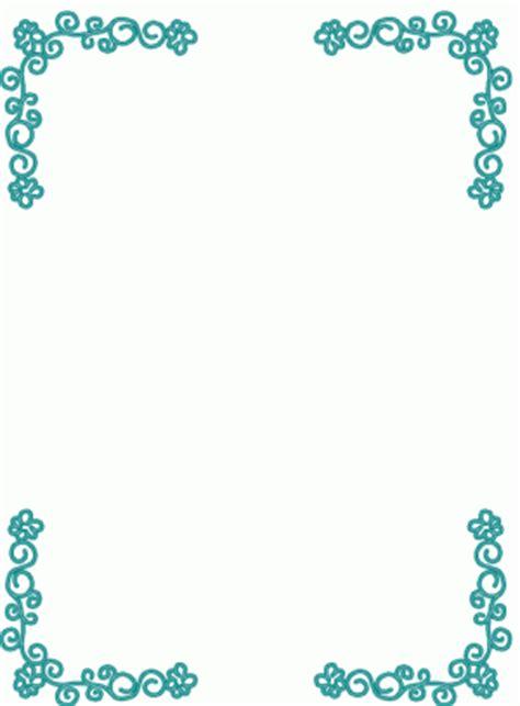 rahmen blumen blau ausmalbild malvorlage rahmen