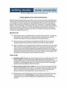 How to write a successful personal statement for college