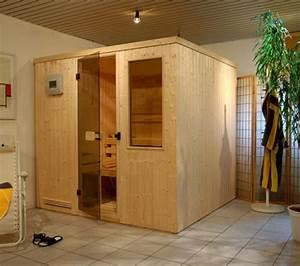 Massivholz Sauna Selbstbau : saunakabine elementsauna fichte trend exklusiv 200 x 236 cm typ 236t ~ Whattoseeinmadrid.com Haus und Dekorationen