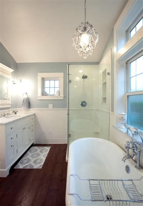 daltile bath accessories wainscoting traditional bathroom seattle by