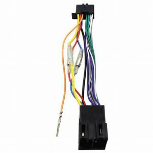16 Pin For Harness Connector Loom Cable For Pioneer Mvh