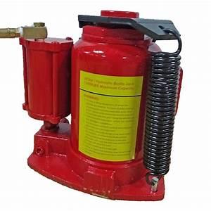Air Hydraulic Bottle Jack 32 Ton Manual 64000lb Heavy Duty