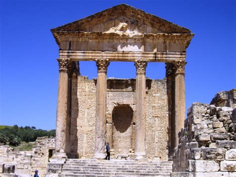 cuisine de la rome antique dougga tunisie patrimoine mondialde l 39 unesco