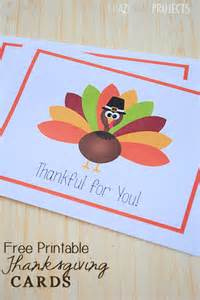 Free Printable Thanksgiving Thank You Cards