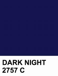 DARK NIGHT #141654 2757 C | Pantone color chart, Pantone ...