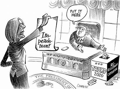 Impeachment Inquiry Chappatte Trump Usa Independent Pelosi
