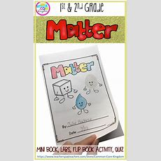 Matter Unit 2nd & 1st Grade  Common Core Kingdom  Estados De La Materia, Experimentos