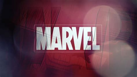marvel logo  hd wallpaper  baltana
