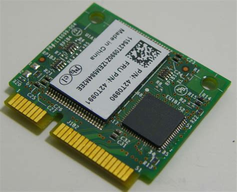 2gb Half Mini Pci-e Turbo Memory Card Lenovo 42t0991