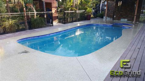 Pool Concrete Polished Floors  Beat The Heat This Summer