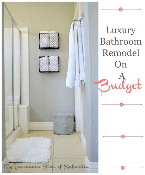 Complete Bathroom Remodel Diy by Diy Luxury Bathroom Makeover