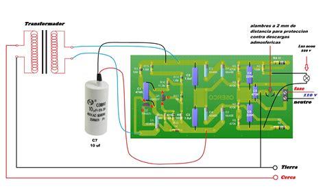 solucionado es viable este circuito para un electrificador o boyero yoreparo app co