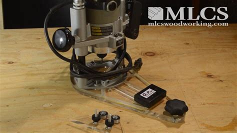 mlcs woodworking onpoint router baseplate  features