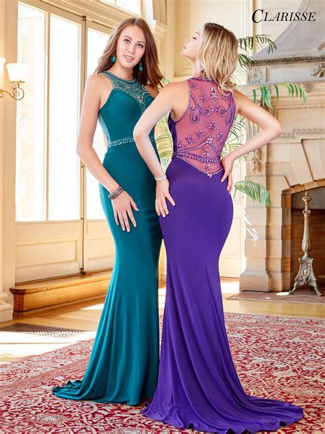 color prom dress 2018 prom dress clarisse 3511 promgirl net