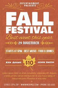 best fall festival flyer ideas and images on bing find what you