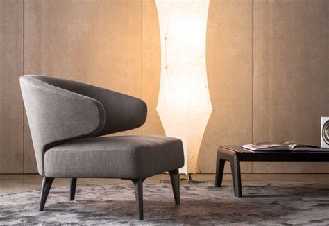 Aston Armchair With Arms By Minotti