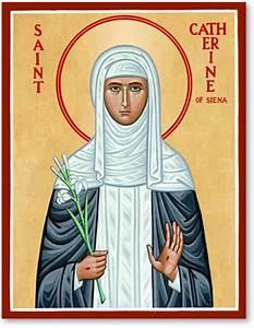 Women Saints: St Catherine of Siena Icon Monastery Icons