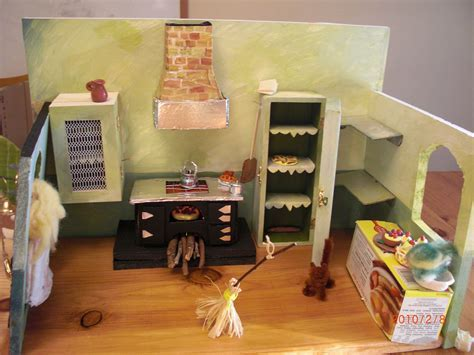 Cinderella?s Handmade Miniature Kitchen   Castle of Costa Mesa