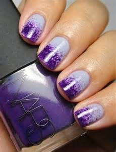Easy purple nail designs polish