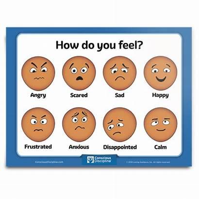 Feel Discipline Conscious Chart Preschool Printable Poster