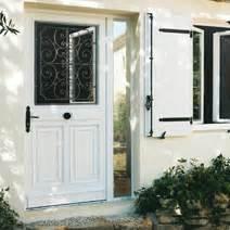porte d39entree hudson aluminium portes With porte d entrée avec vitre ouvrante