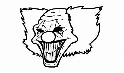 Pennywise Clown Drawing Scary Drawings Draw Steps