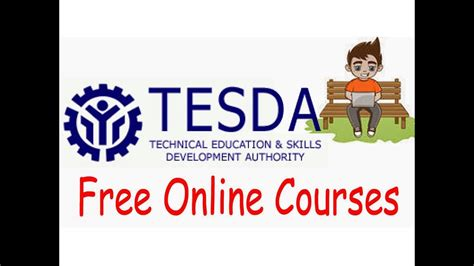 free it certifications tesda free courses