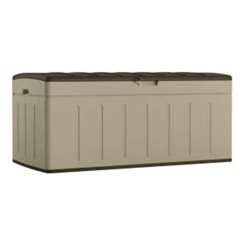 suncast 99 gal resin deck box bmdb9900 the home depot