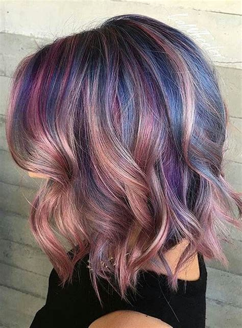 Coloring Unice Hair by 82 Unique Hair Color Ideas For Winter And Unique