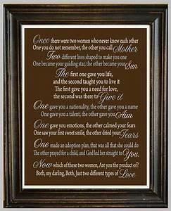 ADOPTION POEM P... Etsy Adoption Quotes