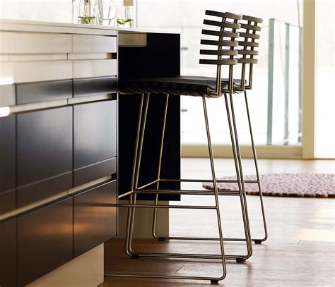Complement it with the right kind of bar chairs & stools, and you'll soon have the most happening space buzzing with positive energy. Modern Bar Stool - Wharfside - famed for Danish furniture ...