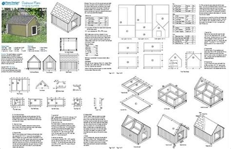 large dog house plans gable roof style doghouse  pet size    lbs  ebay
