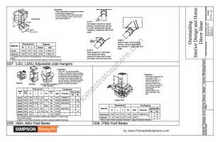 free 12 x 16 deck plan blueprint with pdf document
