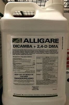 dicamba  herbicide  gallons replaces weedmaster