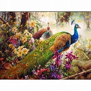 Online Kaufen Großhandel pfau gemalt aus China pfau gemalt
