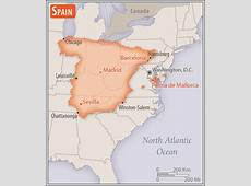 Spain Geography 2018, CIA World Factbook