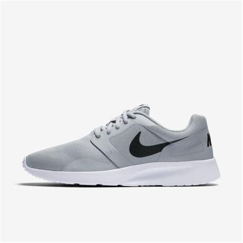 sneakers original mens nike kaishi ns athletic shoes wolfgray black white 747492 003 size uk