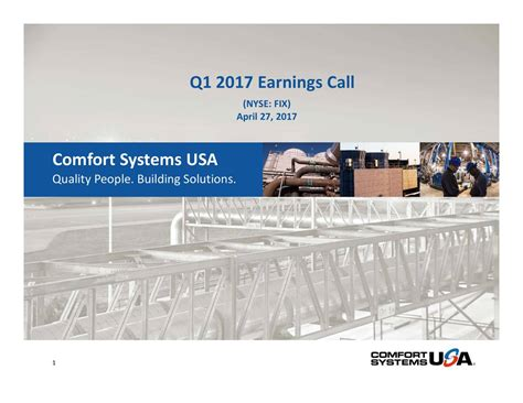 comfort systems usa comfort systems usa inc 2017 q1 results earnings