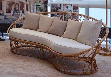 coussin de canapé sur mesure coussin pour fauteuil en rotin
