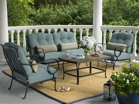 Sears Outdoor Patio Wicker Furniture Set Apartment Sets