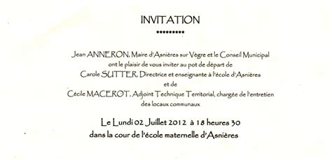 modele invitation a un pot de depart document