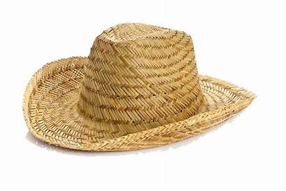 Hat Background Sombrero Straw Clipart Transparent Isolated