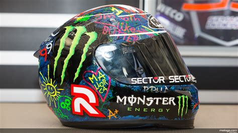 Graffiti Helm : Lorenzo's Graffiti Helmet Sold For More Than €27,000
