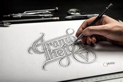 Mockup Hand Drawn Psd Sketch Drawing Paper